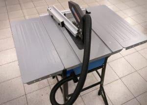 Tischkreissäge Güde 2400 Eco - Tischerweiterung