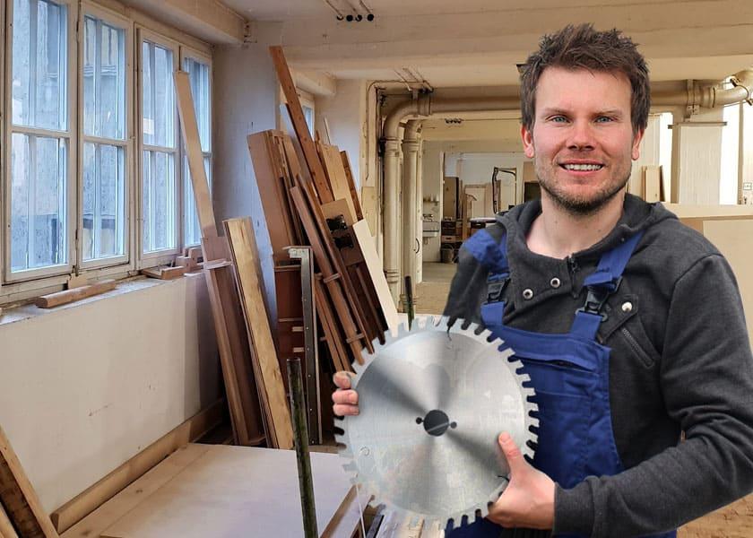 Gehrungssägen 1x Sägeblatt Ø 230 mm HM Kreissägen. Nagelfest für Hand Kapp