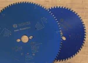 Das Bosch Kreissägeblatt Expert gibt es in verschiedenen Zahnungen und Durchmessern.