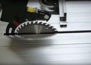 Tischkreissaege Bosch PPS7 - Unterflurzug