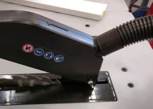 Tischkreissäge Scheppach HS100S - Staubsaugeranschluss