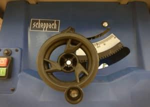 Tischkreissäge Scheppach HS100S - Handrad