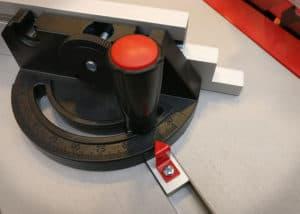 Tischkreissaege BoschGTS 10 J - Winkelanschlag
