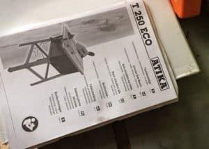 Tischkreissäge Atika Eco250 - Anleitung