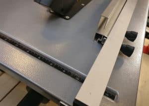 Scheppach HS80 Tischkreissäge - Anschläge